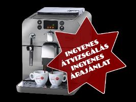 Ingyenes kávégép átvizsgálás és ingyenes árajánlat - Kávégép szervíz