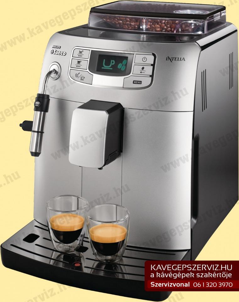Saeco Intelia kávégép szerviz | Kávégépek szervize