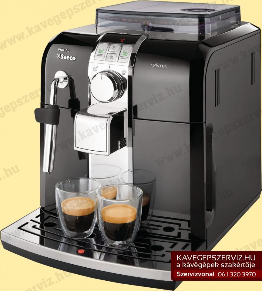 Philips Saeco Intelia kávégép (Szerviz)
