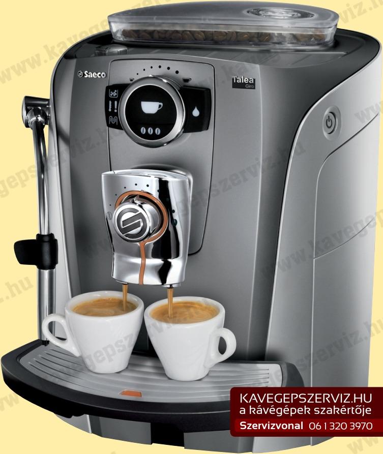 Saeco Talea Giro kávéfőző   Saeco Szerviz   Óbudai Kávéfőző