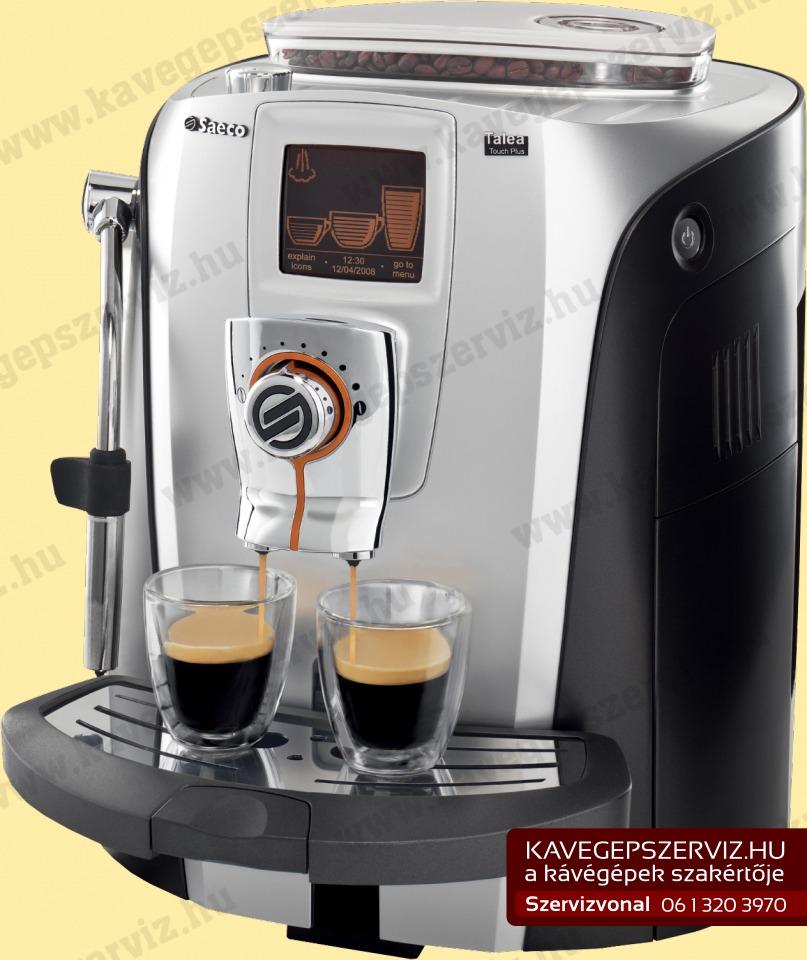 Saeco Talea Touch kávéfőző kávégép szerviz gyári