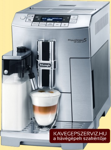 DeLonghi Primadonna S de Luxe kávéfőző gép