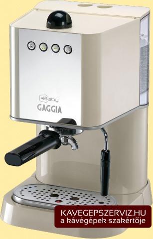 Gaggia Baby kávéfőző gép