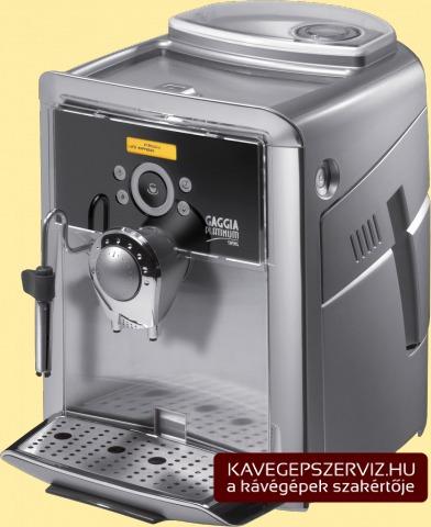 Gaggia Platinum Swing kávéfőző gép