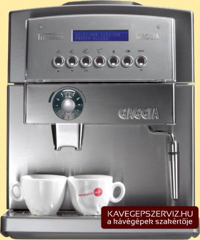 Gaggia Titanium Plus kávéfőző gép