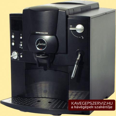 Jura Impressa E40 kávéfőző gép