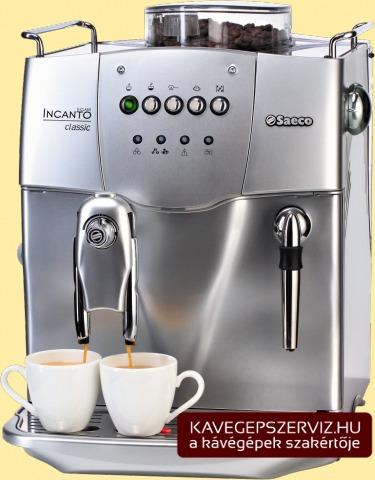Saeco Incanto Classic kávéfőző gép