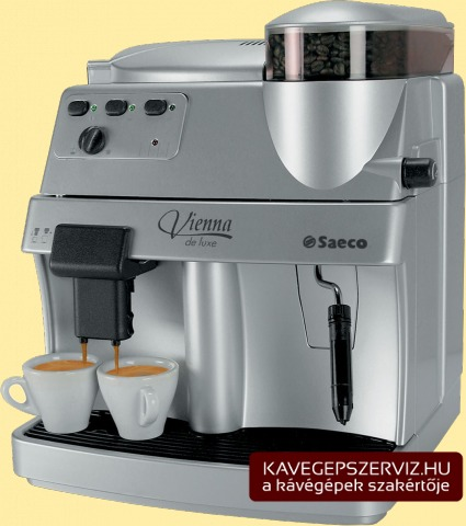 Saeco Vienna de Luxe kávéfőző gép