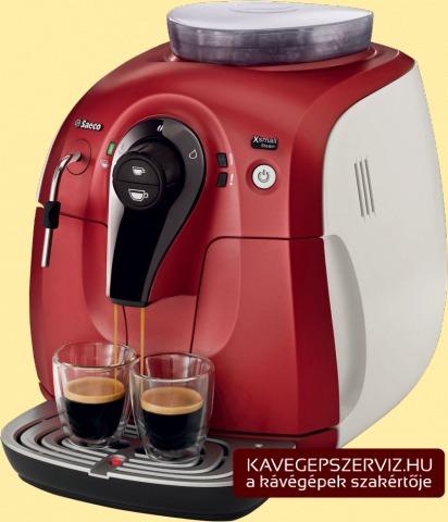 Saeco XSmall Steam kávéfőző gép
