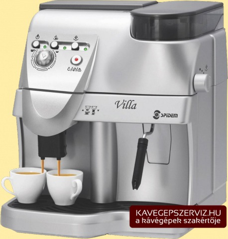 Spidem Villa kávéfőző gép