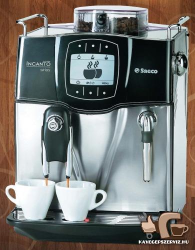 Saeco kávégép szerviz
